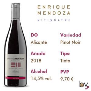Enrique Mendoza Pinot